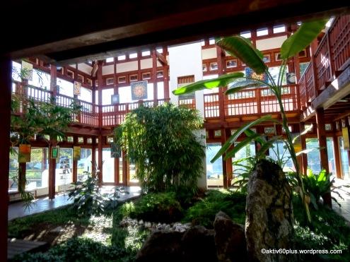 Pflanzenhaus im Japanischen Garten