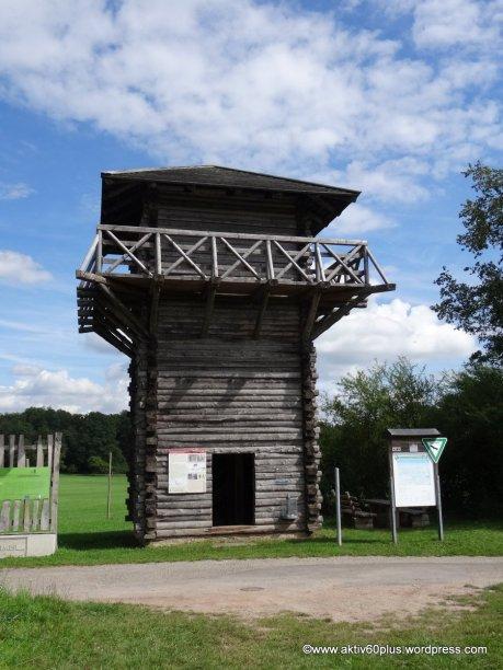 Römischer Wachturm - Nachbau